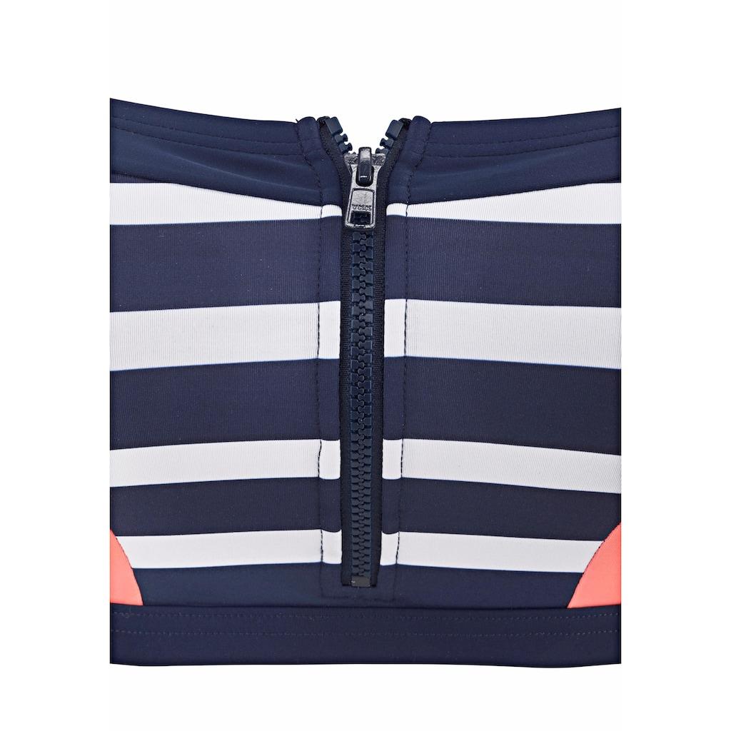 KangaROOS Bustier-Bikini-Top »Anita«, mit Reißverschluss