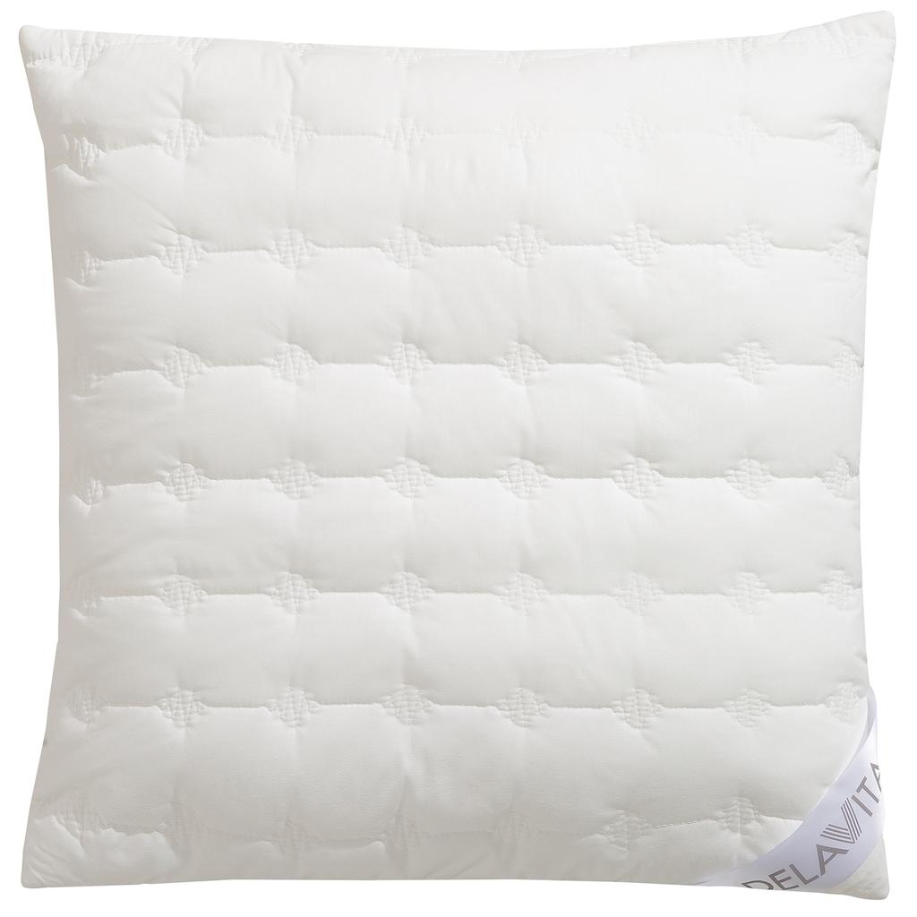 DELAVITA Kopfkissen »Isa«, Füllung: Polyesterfaser, Bezug: Bio-Baumwolle, (1 St.), aus Bio-Baumwolle