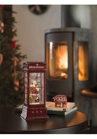 KONSTSMIDE LED Telefonzelle mit Weihnachtsmann kaufen