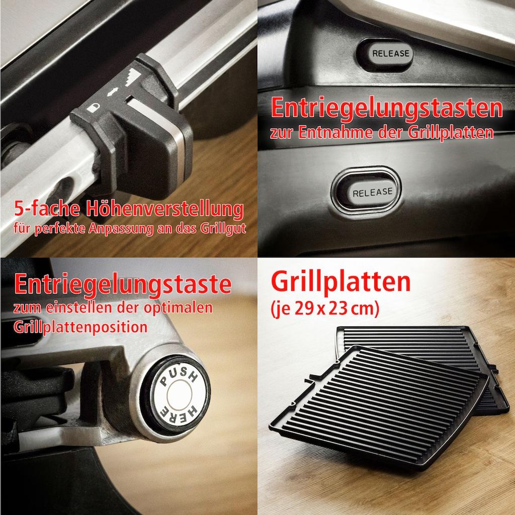 Rommelsbacher Kontaktgrill »KG 2020«, 2000 W