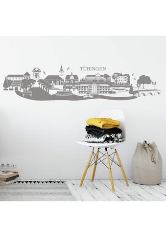 Wall-Art Wandtattoo »XXL Stadt Skyline Tübingen 150cm« kaufen