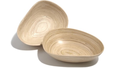 Franz Müller Flechtwaren Schale »Bamboo«, antimikrobiell, je Gr. 20 x 15 cm kaufen