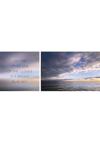 queence Leinwandbild »Blue Sky«, (Set), 2er-Set kaufen
