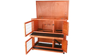TRIXIE Kleintierstall , BxTxH: 116x65x111 cm, zweistöckig kaufen