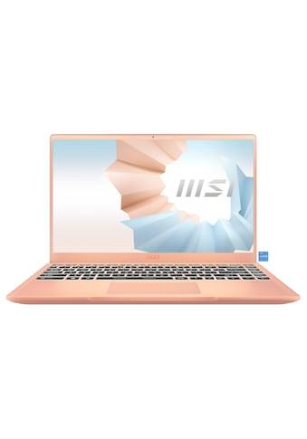 """MSI Notebook »Modern 14 B11SB-086«, (35,7 cm/14 """" Intel Core i7 \r\n 512 GB SSD) kaufen"""