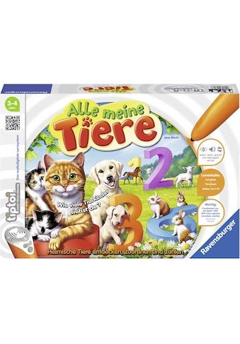 """Ravensburger Spiel, """"tiptoi® Alle meine Tiere"""" kaufen"""