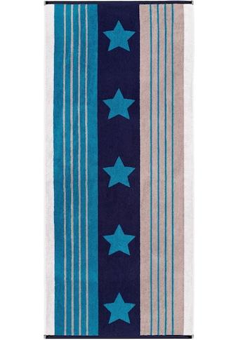 Egeria Strandtuch »Active Stars«, (1 St.), mit Sternen kaufen