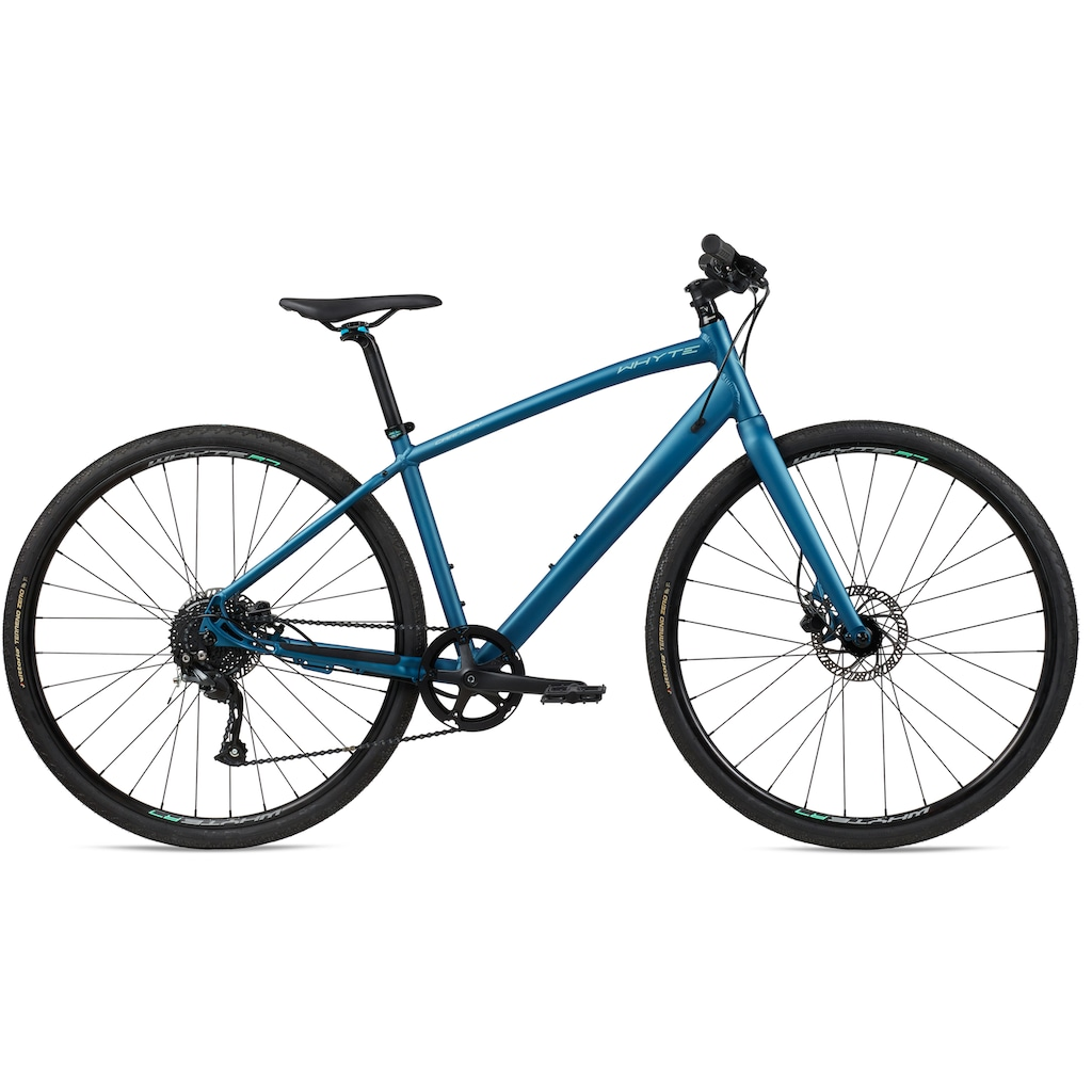 Whyte Bikes Urbanbike, 9 Gang, Shimano, Altus Schaltwerk, Kettenschaltung