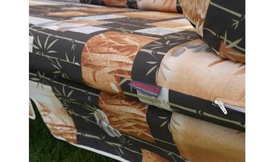 Angerer Freizeitmöbel Hollywoodschaukel »Bambus«, inkl. Auflagen und Zierkissen kaufen