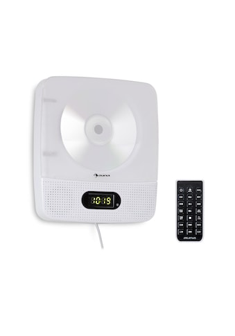 Auna CD - Player Bluetooth Nachtlicht UKW - Radio AUX Digitaluhr weiß »Vertiplay« kaufen