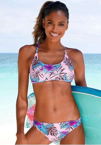 Venice Beach Bikini-Hose »Marly«, mit tropischem Print kaufen