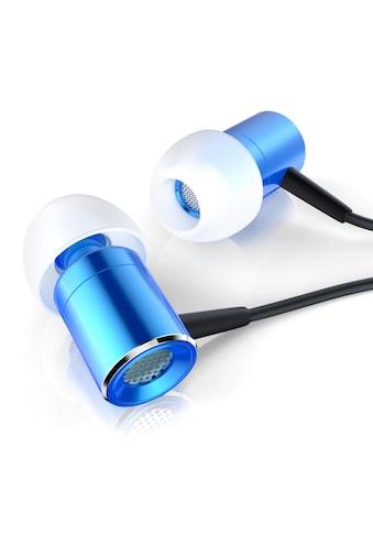 """CSL High End In - Ear Kopfhörer """"Glare Blue"""" »Dynamischer 8mm Treiber / Noise Reduction Design« kaufen"""