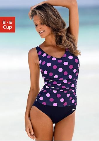 LASCANA Badeanzug, im Punkte-Design mit Shaping-Effekt kaufen