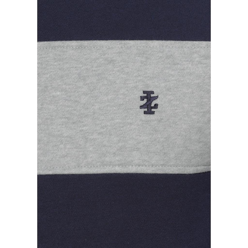 IZOD Sweatshirt, Colourblocking