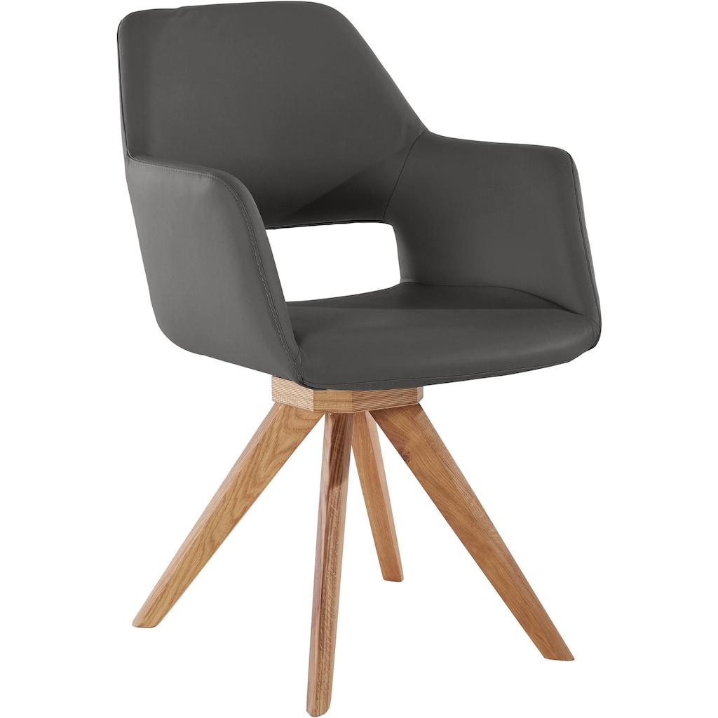 Premium collection by Home affaire Drehstuhl »Berlin«, Bezug in Microfaser oder Leder