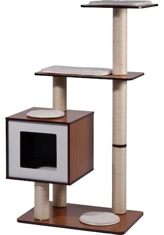 dobar Kratzbaum »XXL-Sammy«, hoch, BxTxH: 68x40x120 cm, 4 Liegeflächen, Katzenhöhle... kaufen