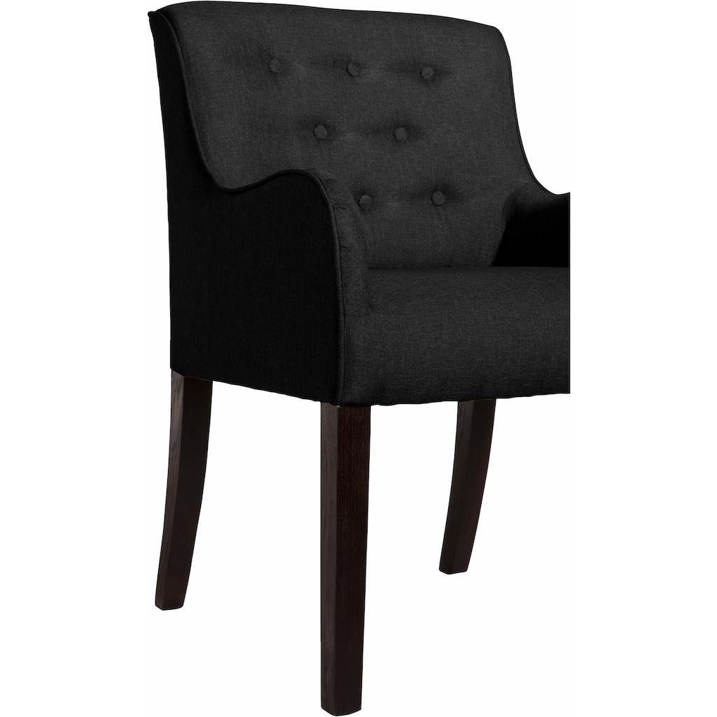 Max Winzer® Esszimmersessel »Debby«, mit dekorativen Knöpfen