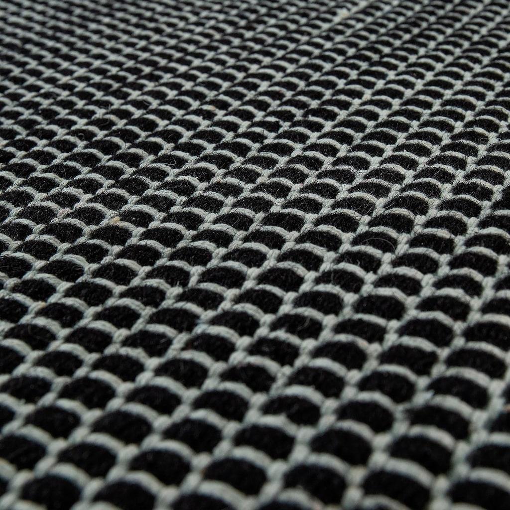 Paco Home Teppich »Kasko 300«, rechteckig, 13 mm Höhe, Flachgewebe, hochwertig verarbeitet, Wohnzimmer