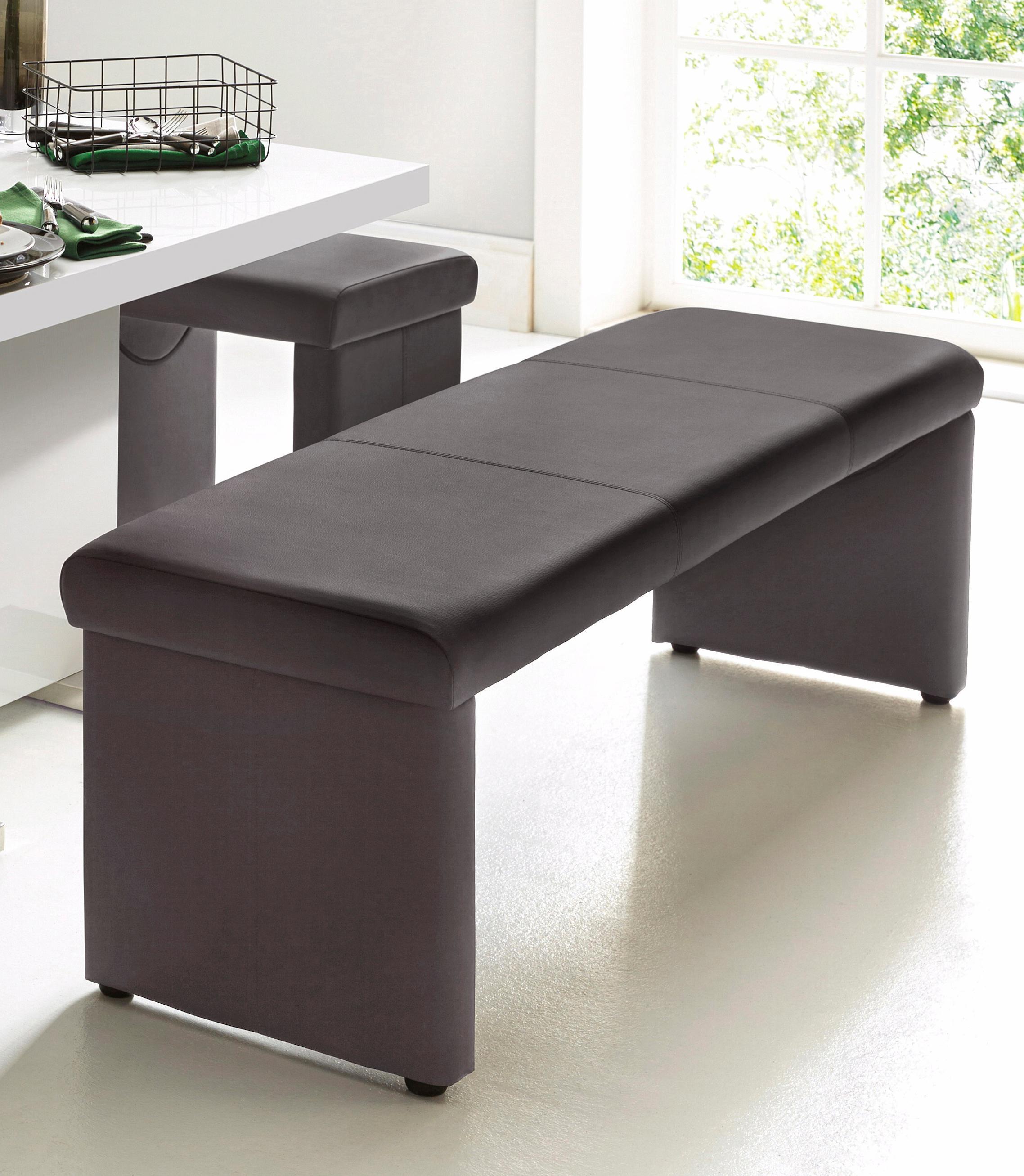 leder-braun-kunstleder Einfache Sitzbänke online kaufen ...