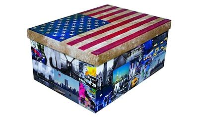 KREHER Aufbewahrungsbox »USA« kaufen