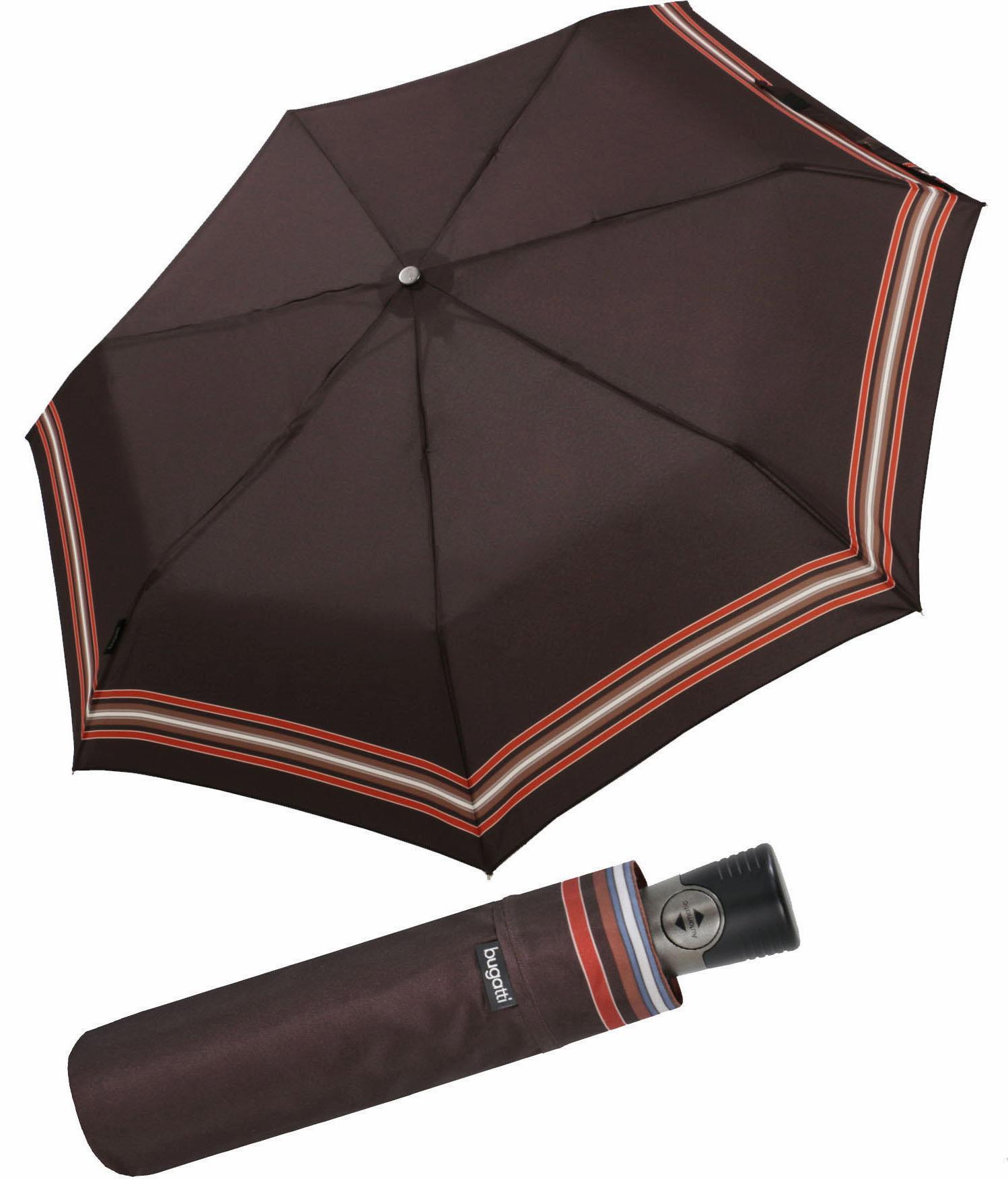 bugatti, Taschenregenschirm Take It Duo | Accessoires > Regenschirme > Sonstige Regenschirme | Schwarz | Bugatti