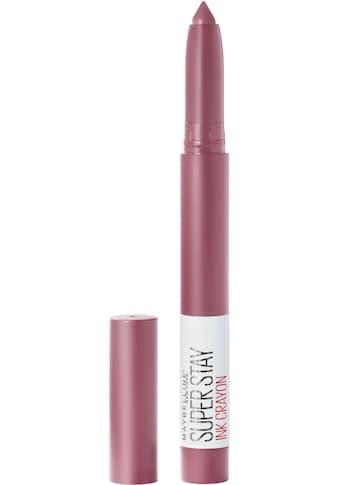 """MAYBELLINE NEW YORK Lippenstift """"Super Stay Ink Crayon"""" kaufen"""