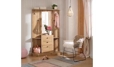 Home affaire Kompaktgarderobe »Norma«, mit Spiegel und vielen Ablageflächen kaufen