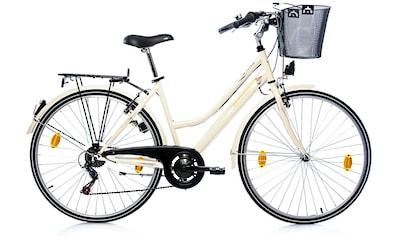 Leader Cityrad »Elysee Comfort«, 6 Gang Shimano Tourney Schaltwerk, Kettenschaltung (5 - tlg.) kaufen