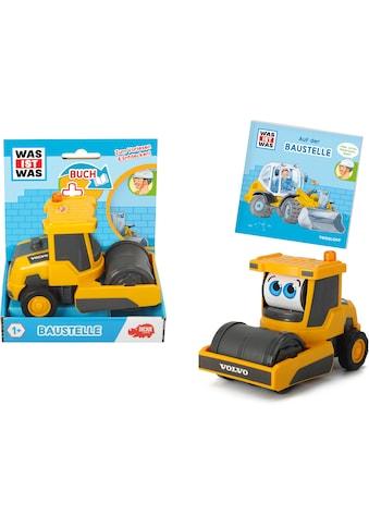 """Dickie Toys Spielzeug - Walze """"Was ist Was  -  Baustelle"""" kaufen"""