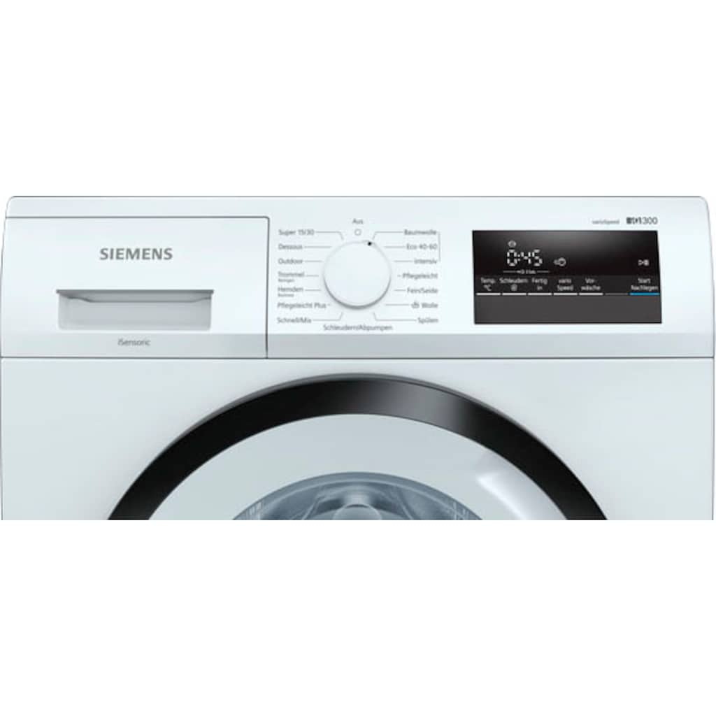 SIEMENS Waschmaschine »WM14N122«, iQ300, WM14N122
