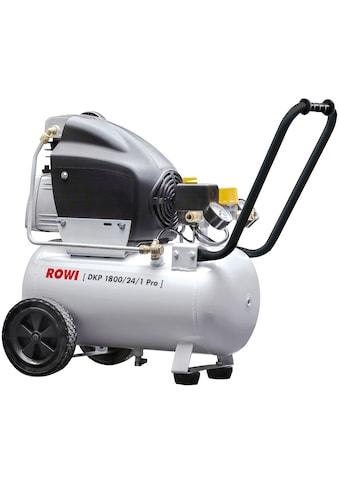 ROWI Kompressor »DKP 1800/24/1 Pro« kaufen