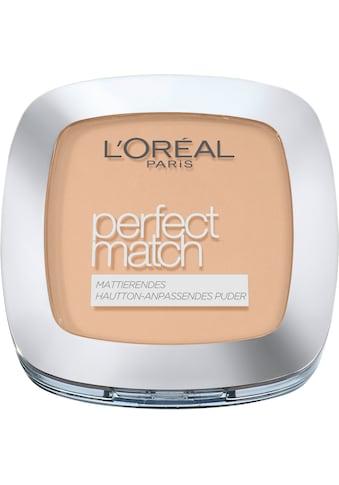 L'ORÉAL PARIS Puder »Perfect Match« kaufen