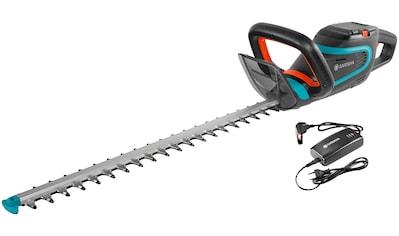 GARDENA Set: Akku - Heckenschere »PowerCut Li - 40/60, 09860 - 20«, 60 cm Schnittlänge, mit Akku und Ladegerät kaufen
