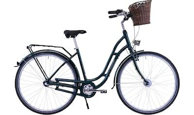HAWK Bikes Cityrad »HAWK City Classic Joy British Green«, 3 Gang, Shimano, Nexus... kaufen