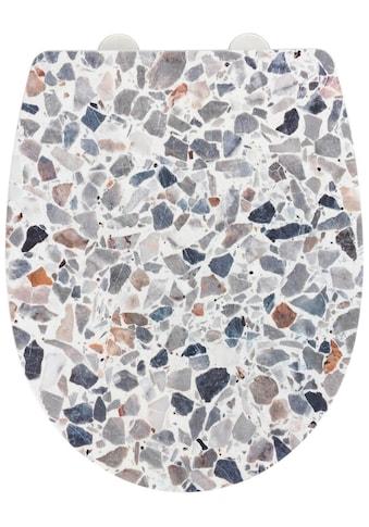 WENKO WC-Sitz »Terrazzo High Gloss«, Thermoplast kaufen