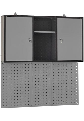 PROFIWERK Hängeschrank »Süden«, (B/H/T): ca. 110x60x20 cm, inkl. Lochwand kaufen