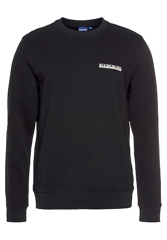 Napapijri Sweatshirt, mit Logobrustprint kaufen