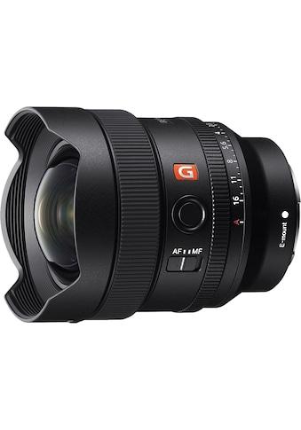 Sony Ultra-Weitwinkelobjektiv »FE 14 mm F1.8 GM MILC« kaufen