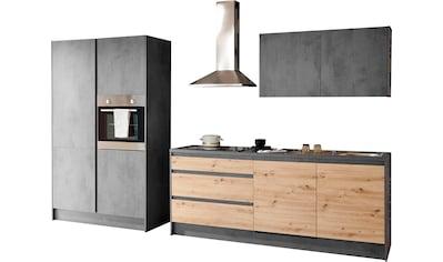 INOSIGN Küchenzeile »Isis«, (Set), mit E-Geräten, Breite 325 cm kaufen