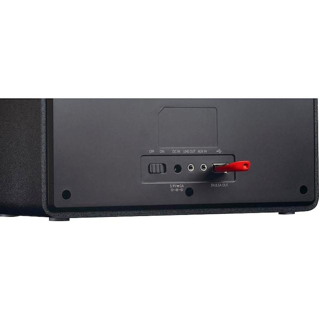 Lenco »DIR-110« Internet-Radio (Internetradio,FM-Tuner, 3 Watt)