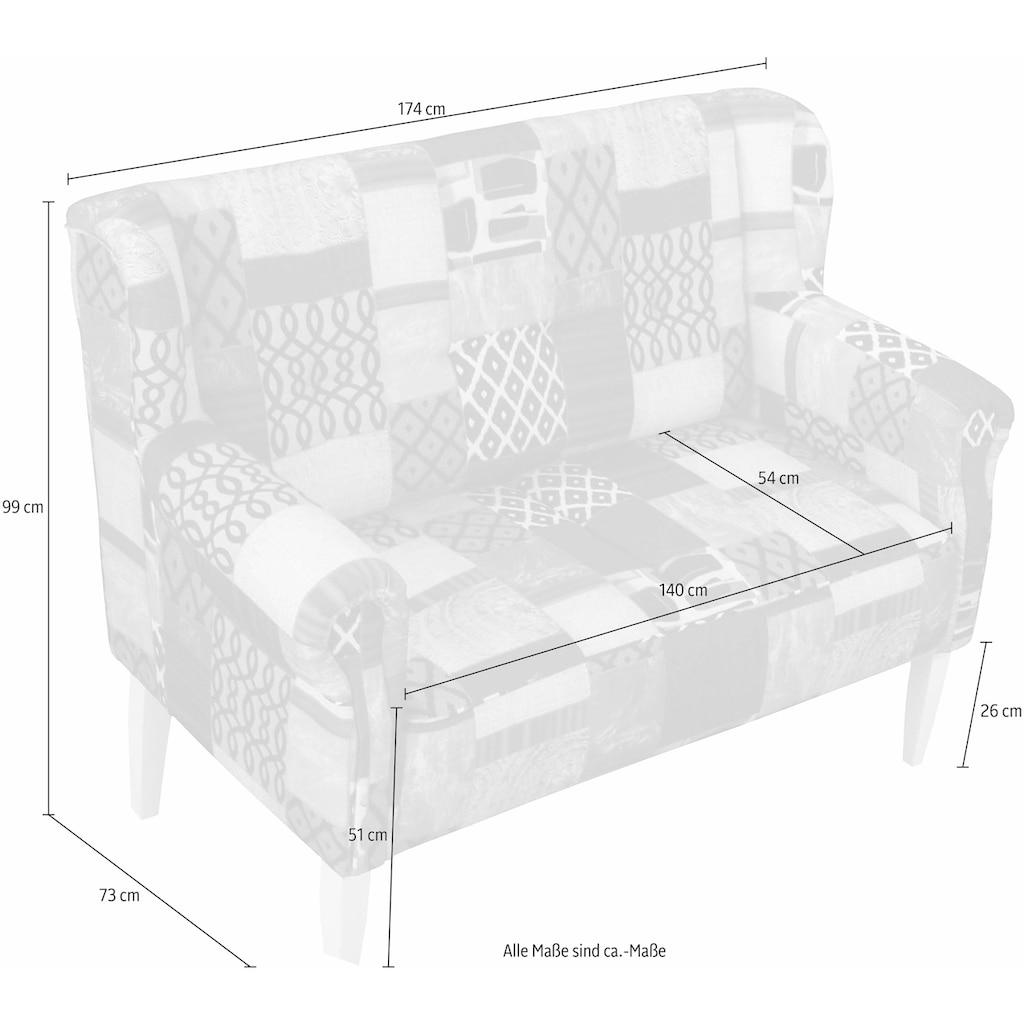 Home affaire 3-Sitzer »Moro«, mit Federkern