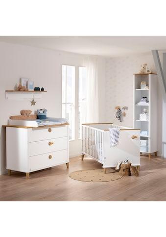 PAIDI Babyzimmer-Komplettset »Babybett Lotte & Fynn«, (2 tlg.), Steiff by Paidi, inklusive PAIDI AIRWELL® 200 Matratze und 4-fach höhenverstellbarem AIRWELL Comfort Lattenrost kaufen