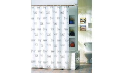 MSV Duschvorhang »Badewanne«, Breite 180 cm, Höhe 200 cm kaufen