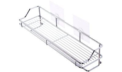 SANILO Duschablage »Transparent«, 40,0 x 11,2 x 10,0 cm kaufen