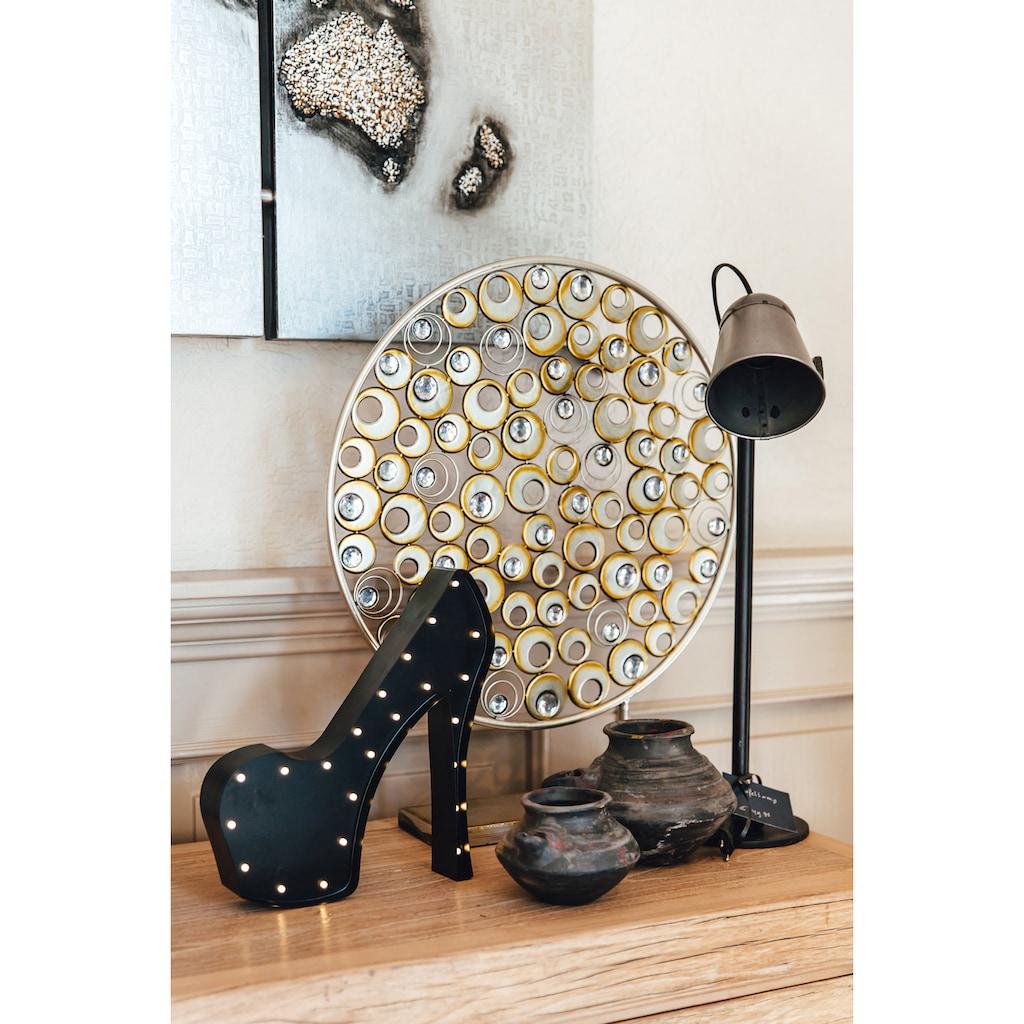 MARQUEE LIGHTS LED Dekolicht »High-Heel«, 1 St., Warmweiß, Wandlampe, Tischlampe High-Heel mit 23 festverbauten LEDs - 29cm Breit und 31cm hoch