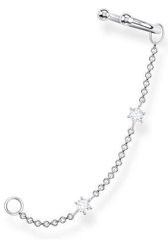 THOMAS SABO Ohrklemme »weiße Steine, EC0021 - 051 - 14« kaufen
