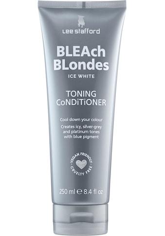 Lee Stafford Haarspülung »Bleach Blonde Ice White Toning Conditioner« kaufen