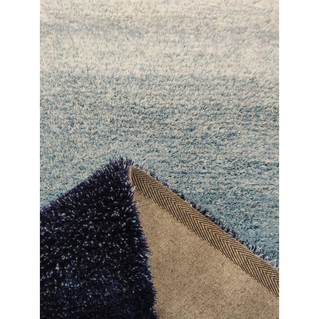 Home affaire Hochflor-Teppich »Isabella«, rechteckig, 25 mm Höhe, Besonders weich durch Microfaser