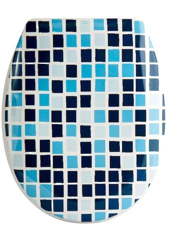 MSV WC-Sitz »MOSAIKO«, Duroplast, mit Softclose kaufen