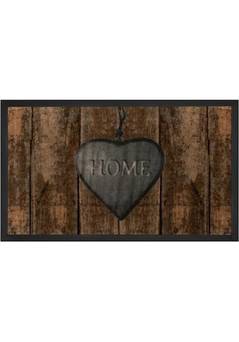 HANSE Home Fußmatte »Shabby Home«, rechteckig, 5 mm Höhe, Schmutzfangmatte, mit... kaufen